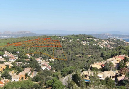 Plot for sale  Begur Costa Brava Plot of land with views over Begur and the sea